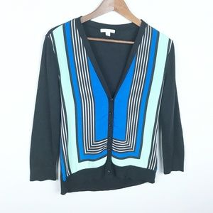 New York & Company Button Front Cardigan Small